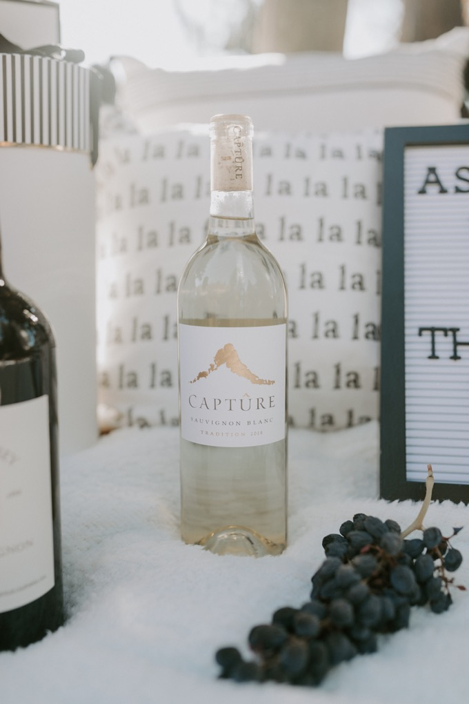 Top 6 Best Wines to Gift this Holiday Season featured by top US lifestyle blog, Whiskey and Lace: Capture Sauvignon Blanc