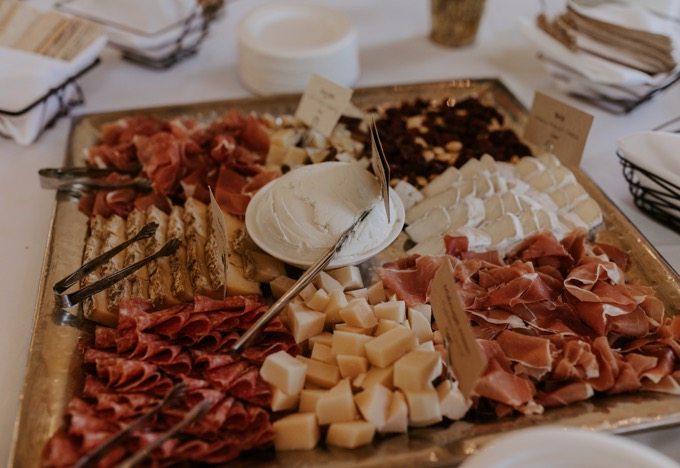 Kendall Jackson Wines Meet and Greet by popular SoCal wine blog, Whiskey and Lace: image of a charcuterie board.